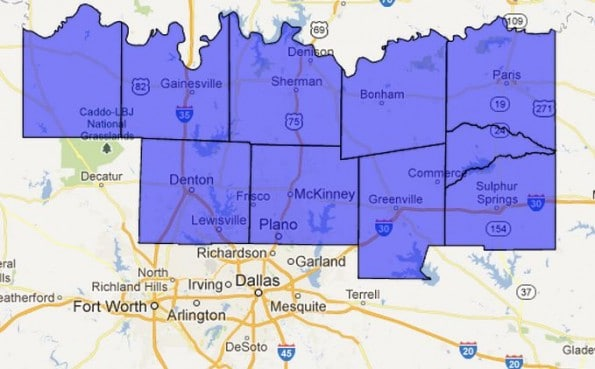 Winter Weather Advisory for Northern D/FW Metroplex