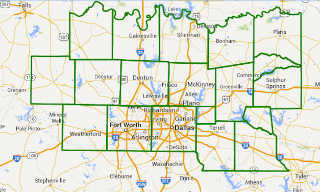 Flash Flood Watch for North Central Texas through Friday Afternoon – Includes Dallas and Ft. Worth