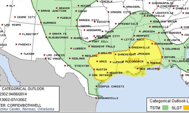 Sunday's Severe Weather Outlook