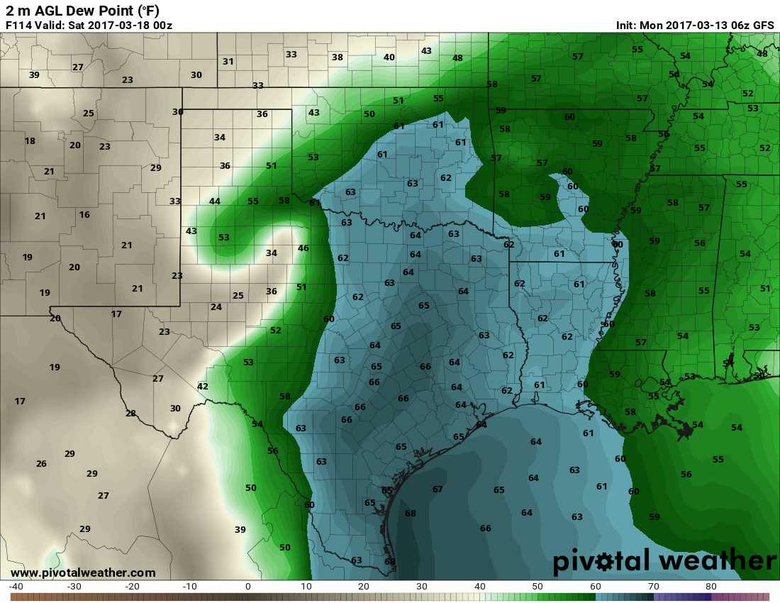 Relatively Benign Weather Through Friday  Texas Storm Chasers - Us weather map 30 day