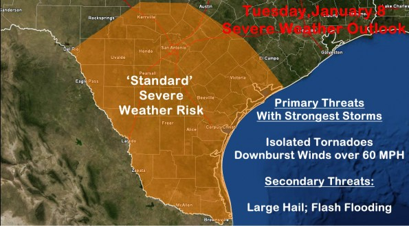 Significant Rain Event and Storms Possible Tues & Wed