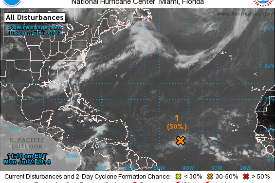 Something Possibly Brewing in the Atlantic…???