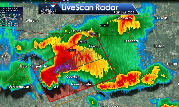Tornado Warning: Smith, Rusk, Gregg Counties (NE TX) till 745PM
