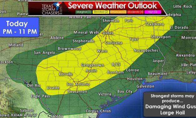 Severe Storms & Heavy Rain Risks This Afternoon into Tonight