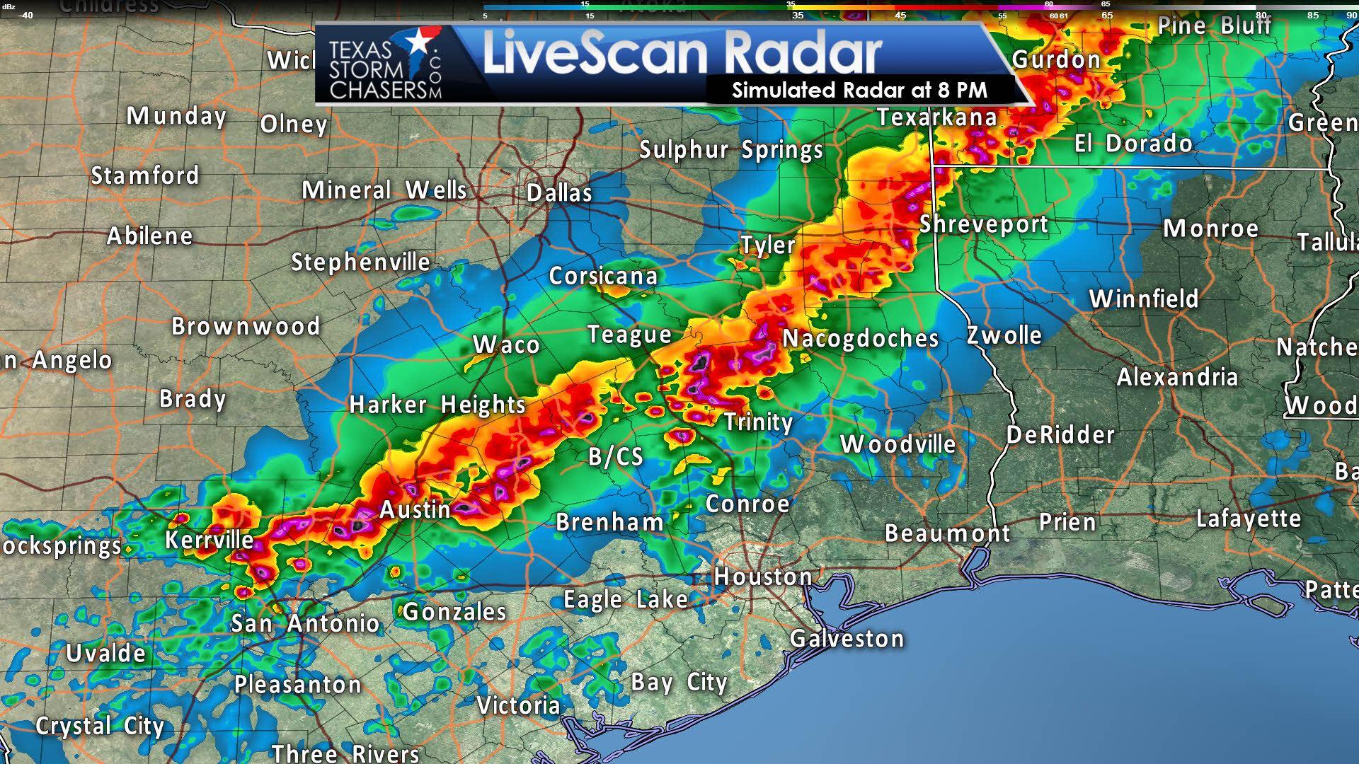 Austin Radar Map Live Doppler Hd Houston Weather News - Shreveport weather radar live