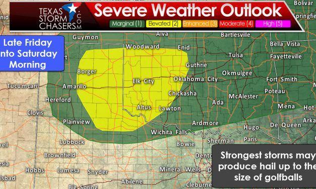 Thunderstorm Chances Return Tomorrow Night through Friday Night