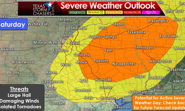 Active Severe Weather Pattern Returns for Friday and Saturday