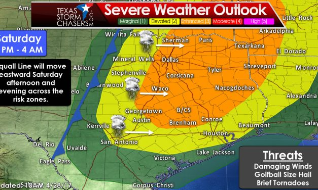 Severe Weather, Flash Flooding, and a Snowstorm on Saturday/Saturday Night