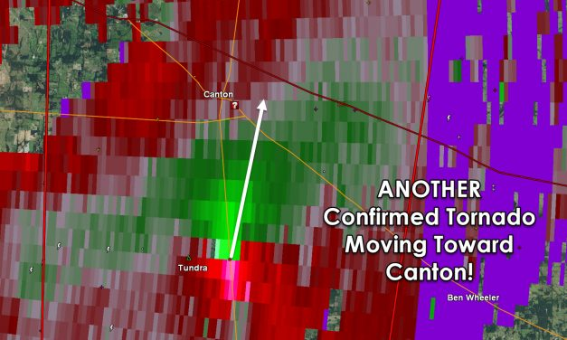 ANOTHER Significant Tornado moving toward Canton!!