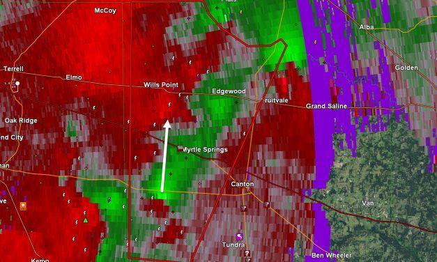 Tornado Warning: Western Van Zandt County till 730PM