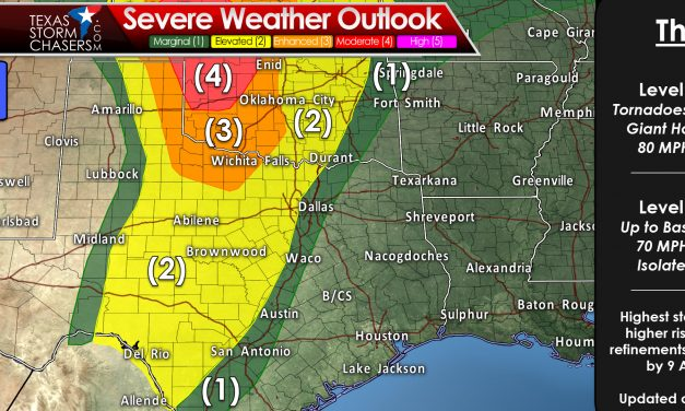 Severe Storms Expected Thursday-Friday; Flooding Risk This Weekend