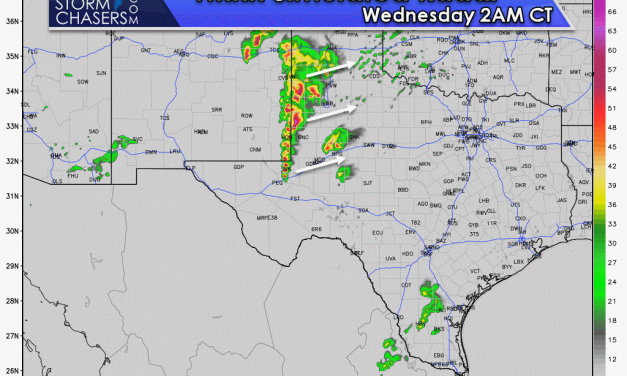Severe Storms Expected Later Today, Wednesday, and Thursday