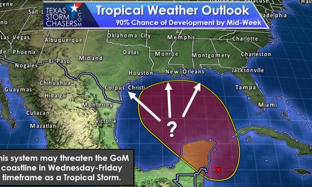 Sunday Evening Notes on Invest 93L (Gulf Coast Threat by Mid-Week)