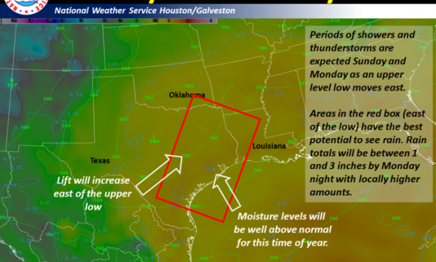 Scattered Storms Likely through Early Next Week; Localized Flooding Possible