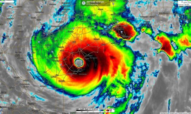 August 26 1:15 AM Major Hurricane Harvey Update