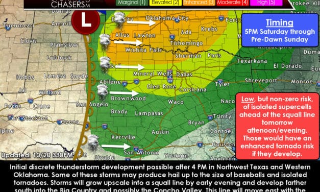 Detailed Discussion on Saturday Evening/Night Severe Weather Threats
