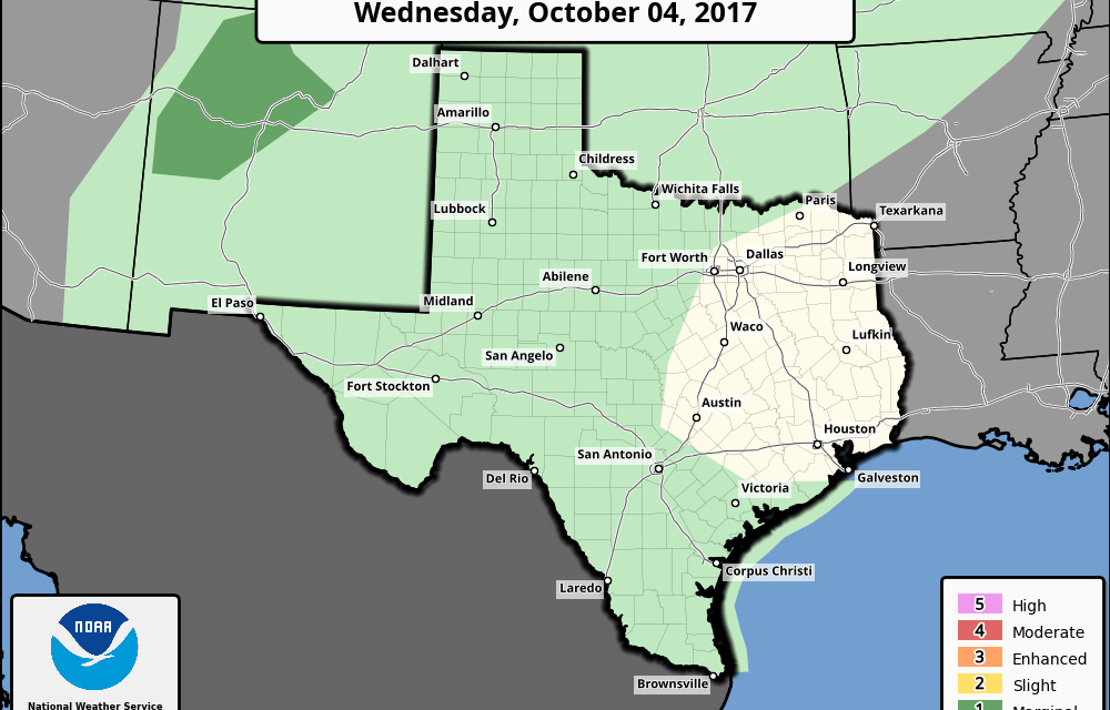 Rain Chances Continue Today – Cold Front Arrives Early Next Week