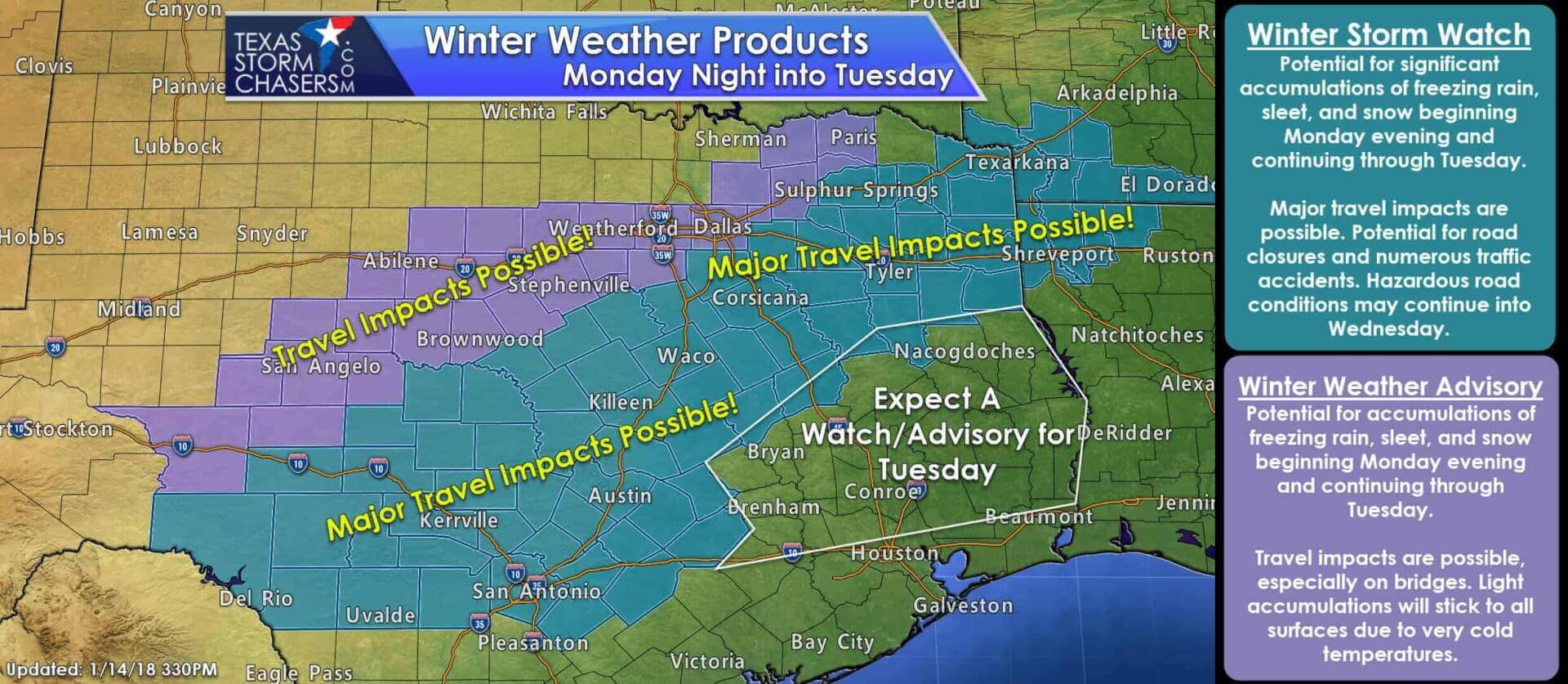Sunday Evening Winter Weather Update - Still On Track for a
