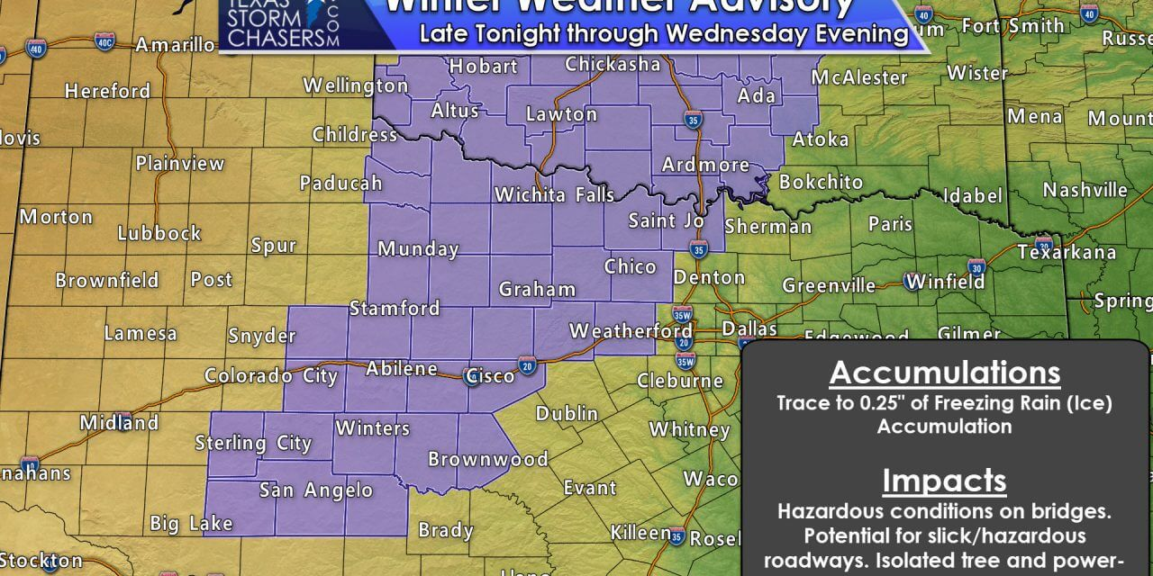 Flooding Rains Continue Overnight – Wintry Weather (Freezing Rain) Tonight & Tomorrow