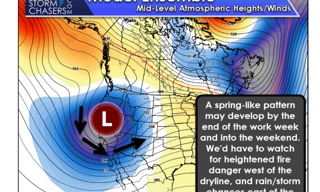Spring-like Weather Pattern by the Weekend?