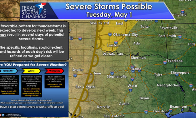 A More Spring-Like Pattern with Threats for Severe Weather Next Week