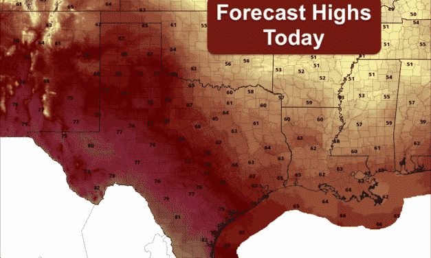 Warming Up This Week – Fire Weather Threats Continue – Severe Storms Possible Again By Friday