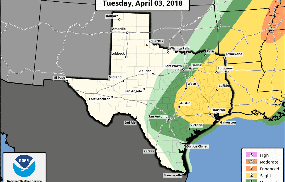 Late Afternoon Notes on Tuesday's Severe Weather Threat
