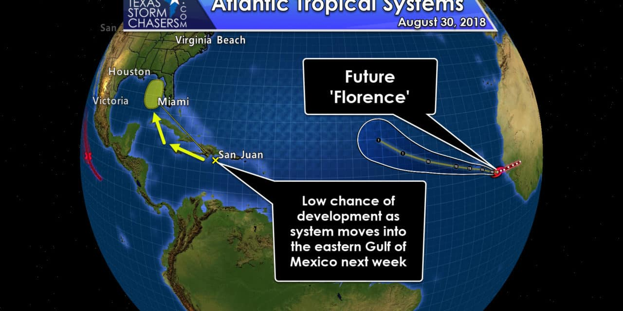 Tropical Mischief in the Atlantic; No Imminent Threats to Texas