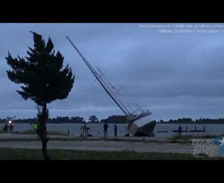 October 7-8, 2017 • Hurricane Nate's Landfall in Biloxi, MS