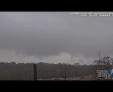 December 19, 2017 • Centerville, TX Winter Thunderstorms