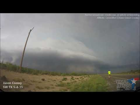 May 4, 2015 • Fort Stockton, TX Supercell