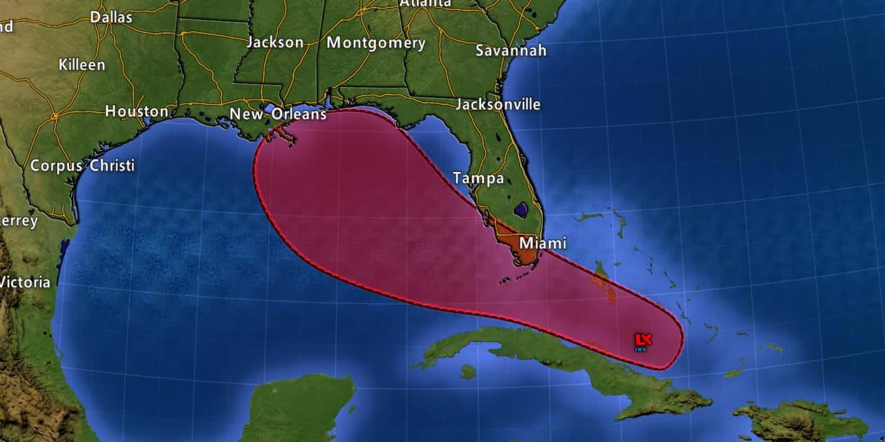 Tropical Depression Likely to Form in the Gulf of Mexico Tomorrow