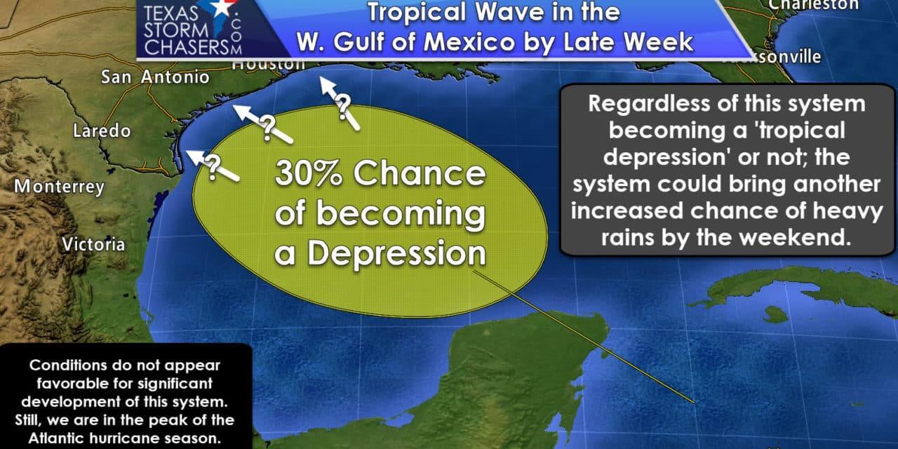 Keeping an eye on a late week tropical wave