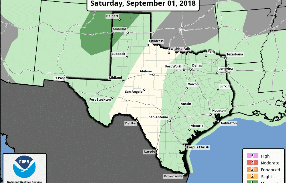 Your Labor Day Weekend Forecast – Increasing Rain Chances!