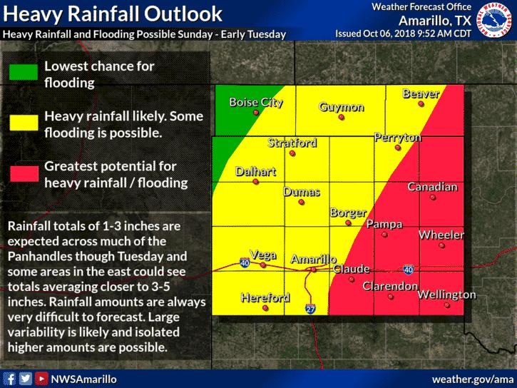 Multi-Day Heavy Rain/Flood & Severe Weather Threat Tonight