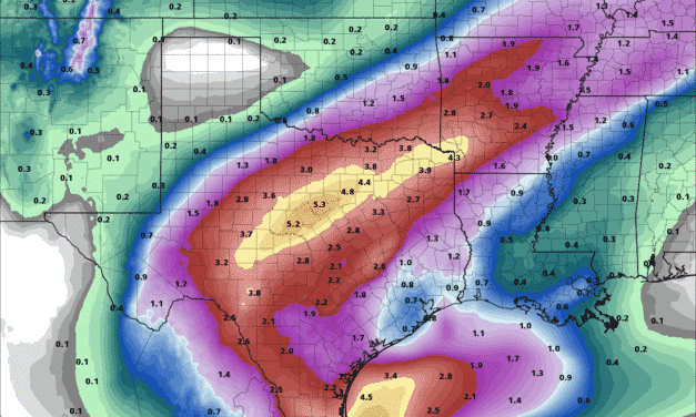 More Heavy Rain, Severe Storms, and Winter Mischief with Strong Cold Front Tomorrow/Monday