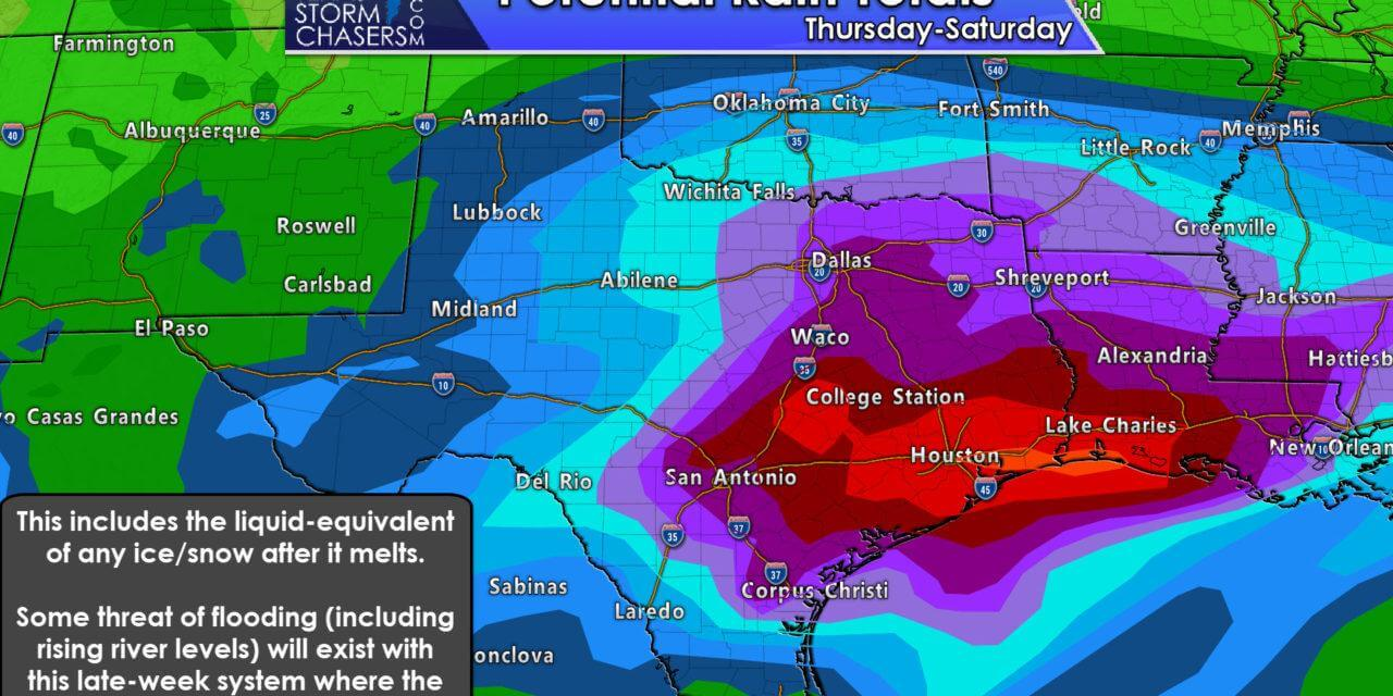 Increasing Threat of Wintry Weather and Heavy Rainfall Friday into Saturday