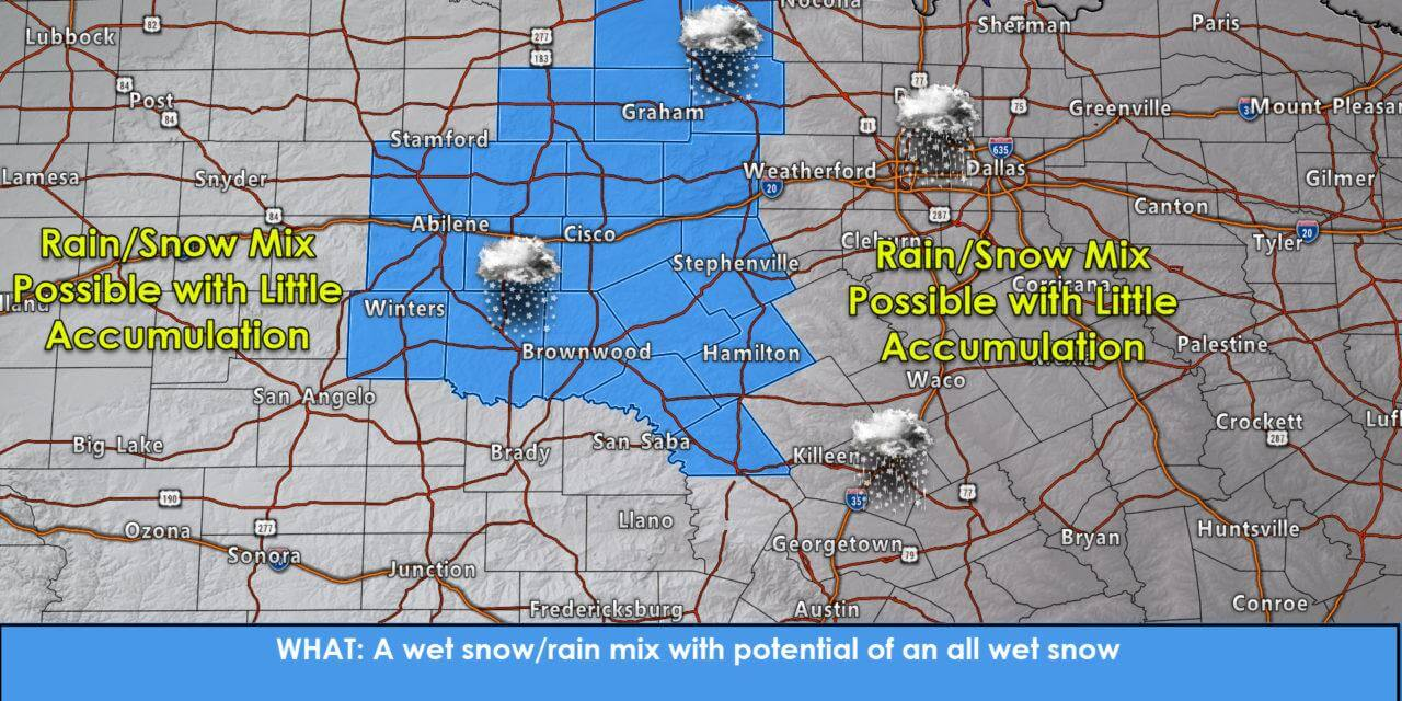 Strong Winds, Rain And A Threat for Wet Sloppy Snow Thursday into Friday