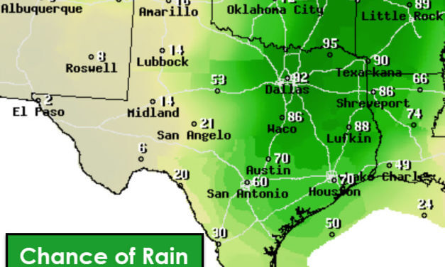 Chilly Winter Rains for Friday