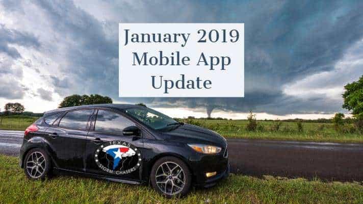 Mid-January 2019 TSC Mobile App Updates