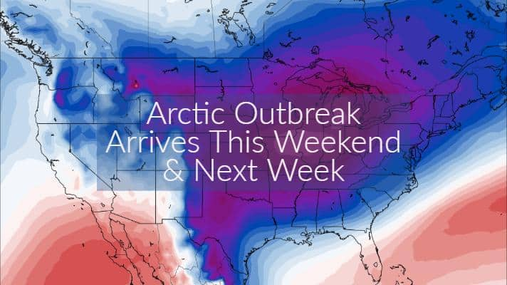 Tricky temperature forecast today; Winter returning with a vengeance this weekend and next week