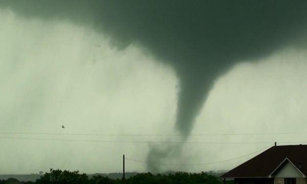 NEW VIDEO: Petrolia, Texas Tornado (just northeast of Wichita Falls)