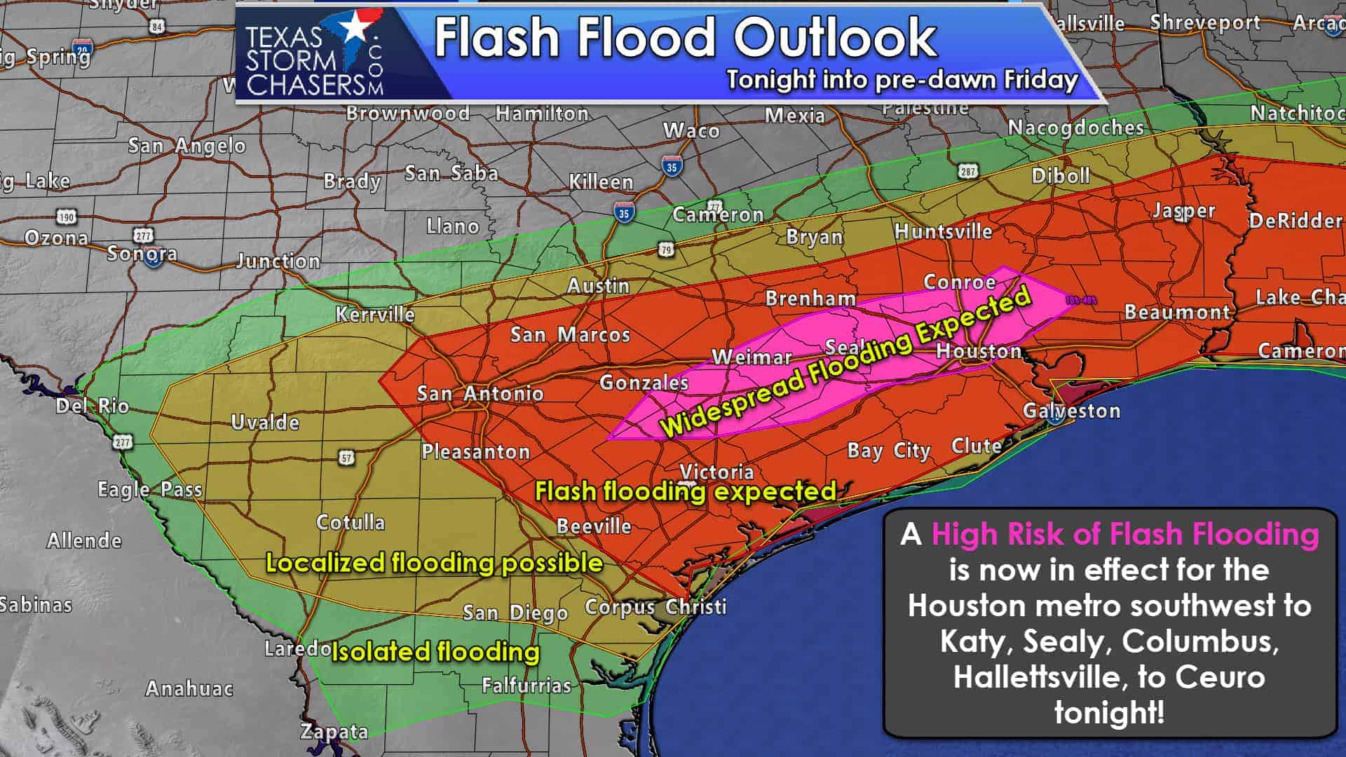 9:30PM Severe Weather & Flash Flood Situation Update