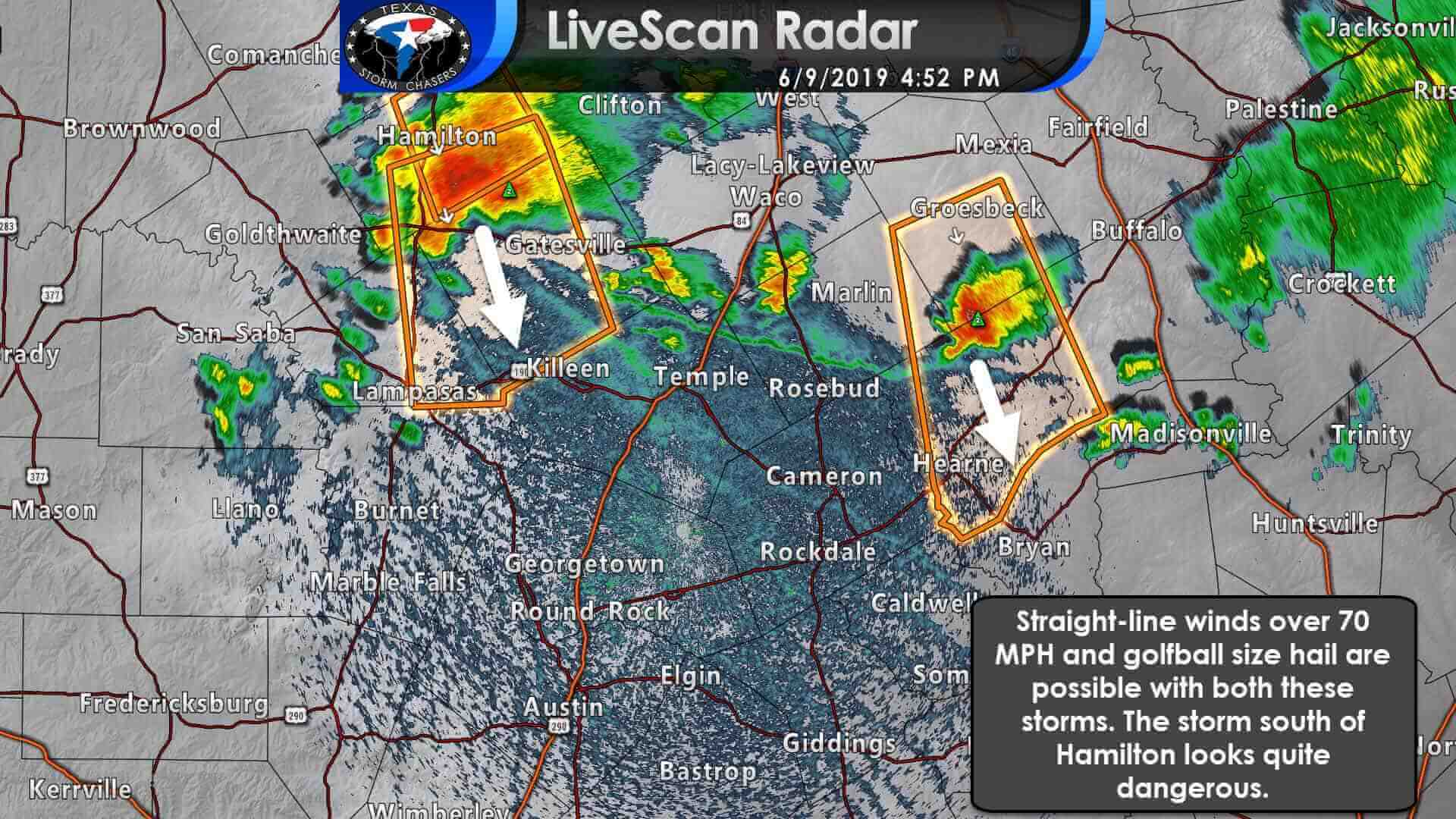 5 PM Severe Weather Update - Dangerous storms moving toward