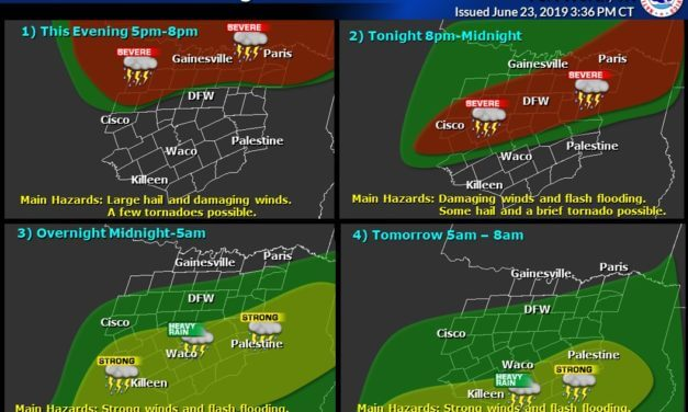 5 PM update on developing severe storms & the overnight severe weather forecast