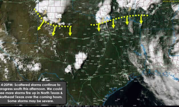 Mid-Afternoon Update on developing storms in Texoma and North Texas