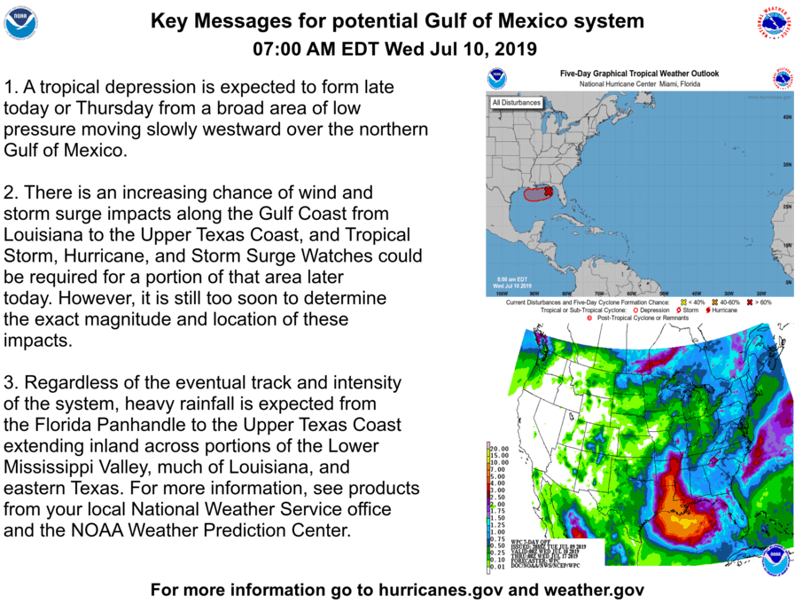 Tropical storm/hurricane impacts *POSSIBLE* Friday into ... on
