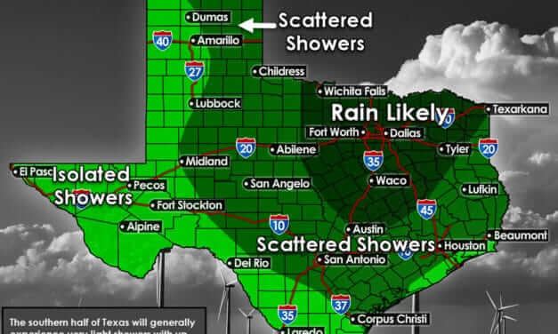 Active weather expected in Texas for Thanksgiving Week (and across the United States)