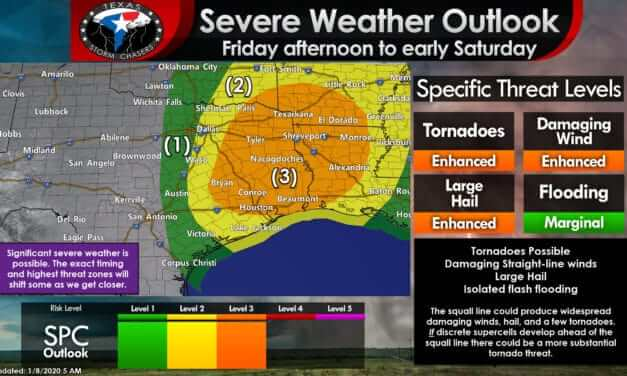 Significant severe weather potential late Friday afternoon continuing into early Saturday