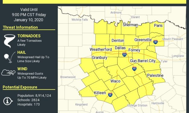 First tornado watch of the day issued for North Texas; severe threat increases by late afternoon